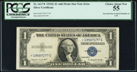 Fr. 1617* $1 1935G With Motto Silver Certificate. PCGS Choice About New 55