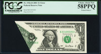 Fr. 1926-B $1 2001 Federal Reserve Note. PCGS Choice About New 58PPQ