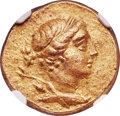 Ancients:Greek, Ancients: IONIA. Magnesia ad Meandrum. Ca. 155-145 BC. AV stater (19mm, 8.46 gm, 12h). NGC AU 5/5 - 4/5....