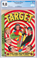 Golden Age (1938-1955):Miscellaneous, Target Comics V10#2 (Novelty Press, 1949) CGC VF/NM 9.0 White pages....