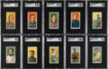 Baseball Cards:Lots, 1909-11 T206 White Border Baseball Collection (253). ...