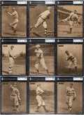 Baseball Cards:Sets, 1909-13 M101-2 Sporting News Supplements Near Set (70/100). ...