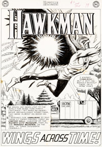 "Murphy Anderson Hawkman #2 Complete 12-Page Story ""Wings Across Time!"" Original Art (DC, 1964).... (Total: 12..."