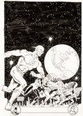 Original Comic Art:Covers, Carmine Infantino and Murphy Anderson Overstreet Comic Book Price Guide 20th Edition Cover Original Art (Overstree...