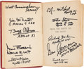 Explorers:Space Exploration, Jules Verne: From the Earth to the Moon Book Signed by Ten Apollo Astronauts. ...