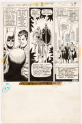 Original Comic Art:Panel Pages, Dick Dillin and Murphy Anderson World's Finest Comics #217 Two-Thirds Story Page 23 Original Art (DC, 1973)....