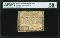Colonial Notes:Rhode Island, Rhode Island July 2, 1780 $8 PMG About Uncirculated 50.. ...