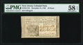 Colonial Notes:New Jersey, New Jersey December 31, 1763 18d PMG Choice About Unc 58 EPQ.. ...