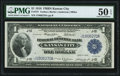 Large Size:Federal Reserve Bank Notes, Fr. 737 $1 1918 Federal Reserve Bank Note PMG About Uncirculated 50 EPQ.. ...