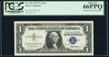 Error Notes:Mismatched Serial Numbers, Mismatched 55/54 Serial Numbers Error Fr. 1619 $1 1957 Silver Certificate. PCGS Gem New 66PPQ.. ...