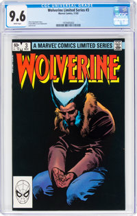 Wolverine #3 (Marvel, 1982) CGC NM+ 9.6 White pages