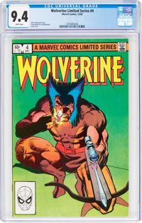 Wolverine #4 (Marvel, 1982) CGC NM 9.4 White pages