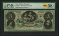Trenton, NJ- Merchants' Bank $3 Nov. 20, 1861 Remainder PMG Choice About Unc 58 EPQ