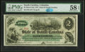 Obsoletes By State:South Carolina, Columbia, SC- State of South Carolina $2 Mar. 2, 1872 Cr. 4 PMG Choice About Unc 58 EPQ.. ...