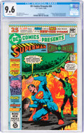 Modern Age (1980-Present):Superhero, DC Comics Presents #26 Superman and Green Lantern (DC, 1980) CGC NM+ 9.6 White pages....