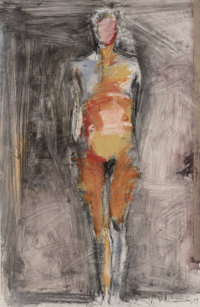 Manuel Neri (b. 1930) Recuerdo Benecia No. 14, 1993 Dry Pigment, oil stick, and charcoal on paper 40-1/2 x 26 inches