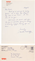Explorers:Space Exploration, Space Shuttle Challenger (STS-51-L): Christa McAuliffe Autograph Letter Signed to a Former Student with Hand-Addre...
