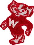 Explorers:Space Exploration, Apollo 13 Flown University of Wisconsin-Madison Mascot Embroidered Patch Directly from the Personal Collection of Mission ...