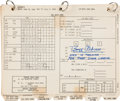 "Explorers:Space Exploration, Apollo 11: Training-Used and Annotated ""Lunar Module Data Card Book"" Originally from the Personal Collection of Mission Lunar ... (Total: 2 Items)"