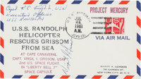 Gus Grissom Signed Mercury-Redstone 4 (Liberty Bell) U.S.S. Randolph Splashdown Cover also Signed by t... (Total: 2 Item...