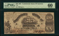 T18 $20 1861 PF-1 Cr. 101 PMG Uncirculated 60
