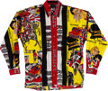 Music Memorabilia:Costumes, The Beatles Versace Matching Pants, Vest, and Shirt Set (circa 1990s). . ...
