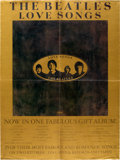 Music Memorabilia:Posters, The Beatles Love Songs Promotional Poster (1977). . ...