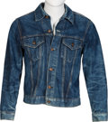 Music Memorabilia:Costumes, Keith Moon/The Who Owned and Worn Denim Jacket and T-Shirt. ... (Total: 2 Items)