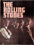 Music Memorabilia:Autographs and Signed Items, Rolling Stones Autographed Program from 2nd-Ever American Concert Date (June 1964)...