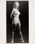 Movie/TV Memorabilia:Photos, Marilyn Monroe Limited Edition Photo Print Signed By László Willinger. . ...