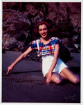 "Movie/TV Memorabilia:Photos, Marilyn Monroe ""Norma Jeane"" Color Photo Made From Original Negative and Signed by the Photographer.. ..."