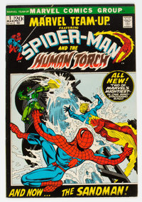 Marvel Team-Up #1 Spider-Man and the Human Torch (Marvel, 1972) Condition: VF