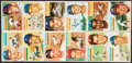 Baseball Cards:Sets, 1956 Topps Baseball Partial Set (170/340). ...