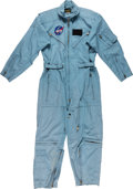 Explorers:Space Exploration, Apollo 11: Michael Collins' Personal Apollo-Era Flight Suit by Flite Wear Originally from the Collection of NASA Physical Cond...