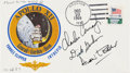 Explorers:Space Exploration, Apollo 15 Flown Limited Edition Apollo 12 Crew-Signed Cover Directly from the Family Collection of Apollo 12 Command Module Pi...