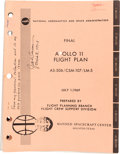 """Explorers:Space Exploration, Apollo 11: NASA """"Final Apollo 11 Flight Plan AS-506 / CSM-107 / LM-5"""" July 1, 1969-dated Book Directly from the Collec..."""