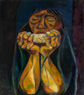 Paintings, Eduardo Kingman (1913-1997). El Choclo, 1956. Oil on canvas. 31-1/2 x 27-1/2 inches (80.0 x 69.9 cm). Signed, titled, da...