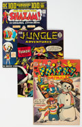Golden Age (1938-1955):Miscellaneous, Comic Books - Assorted Golden to Modern Age Comics Group of 30(Various Publishers, 1952-80) Condition: Average VG.... (Total: 30 )