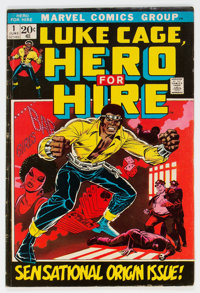 Hero for Hire #1 (Marvel, 1972) Condition: VG