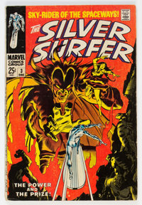 The Silver Surfer #3 (Marvel, 1968) Condition: VG-