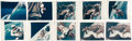 """Explorers:Space Exploration, Gemini 4 EVA: Collection of Ten Awesome Original NASA """"Red Number"""" Color Photos. ..."""