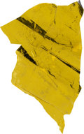 Explorers:Space Exploration, Apollo 9 Lunar Module Flown Kapton Foil Remnant Directly from the Personal Collection of Mission Lunar Module Pilot Rusty Schw...