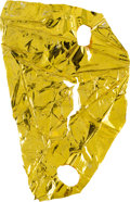 Explorers:Space Exploration, Apollo 9 Lunar Module Flown Extremely Large Kapton Foil Remnant Directly from the Personal Collection of Mission Lunar Module ...
