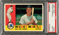 Baseball Cards:Singles (1960-1969), 1960 Topps Mickey Mantle #350 PSA Mint 9 - None Higher!...