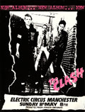 """Movie Posters:Rock and Roll, The Clash at the Electric Circus (Virgin Records, 1977). Rolled, Fine+. Concert Poster (28.5"""" X 39.5"""").. ..."""
