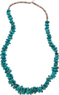 Explorers:Space Exploration, Jewelry: Janet Armstrong's Turquoise Necklace Directly From The Armstrong Family Collection™, CAG Certified. ...