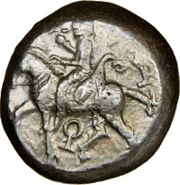 Ancients: CILICIA. Tarsus. Ca. late 5th century BC. AR stater (19mm, 3h). NGC VF
