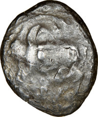 Ancients: CYPRUS. Uncertain mint. Ca. early 5th century BC. AR stater (22mm, 12h). NGC Choice Fine
