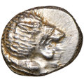 Ancients:Greek, Ancients: IONIA. Miletus. Ca. late 6th-5th centuries BC. AR obol or 1/12 stater (10mm). NGC AU....