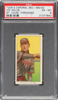 Baseball Cards:Singles (Pre-1930), 1909-11 T206 Sweet Caporal Vic Willis (St. Louis, Throwing) PSA EX-MT 6....